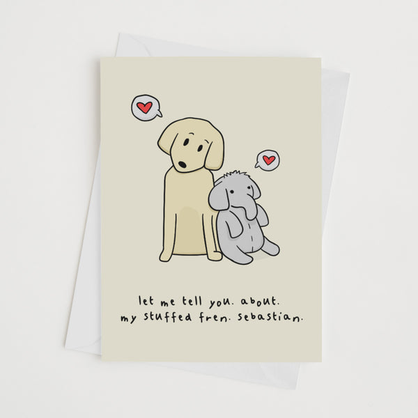 Best Friend Sebastian - Card