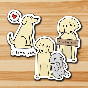 Dog Feelings Sticker Pack