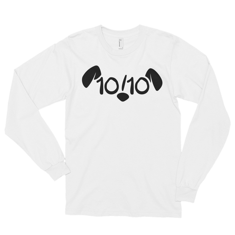 Logo Print Long Sleeves