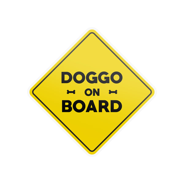 Doggo on Board - Magnet