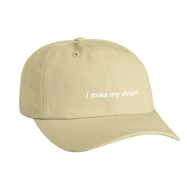 I Miss My Dog(s) Hat