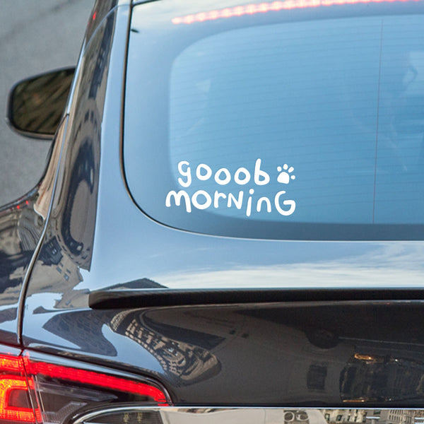 Goob Morning Sticker