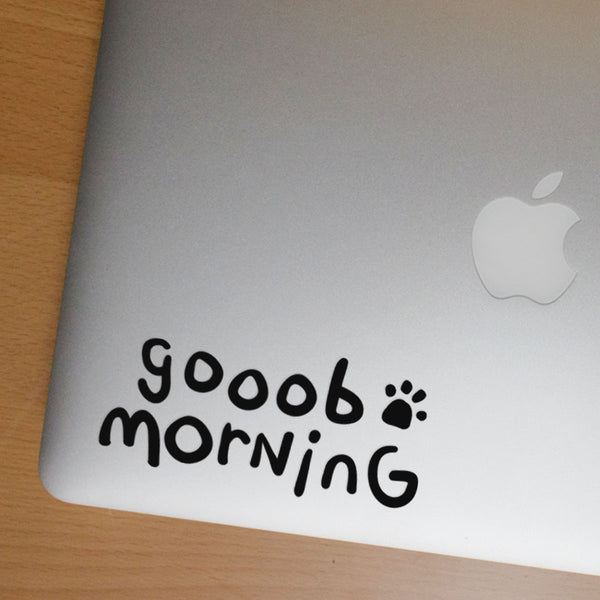 Gooob Morning Sticker