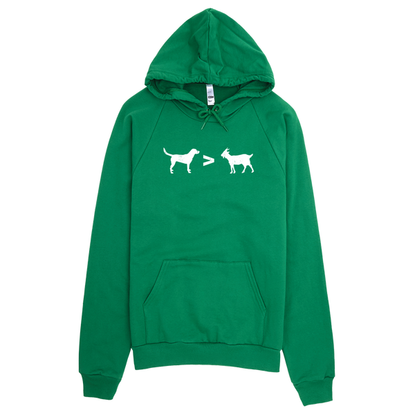 Dogs > Goats - Hoodie