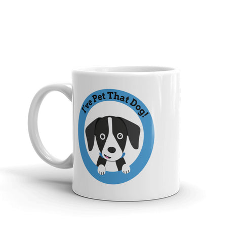 I've Pet That Dog Logo Mug