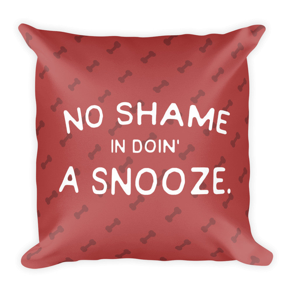 Snooze - Throw Pillow