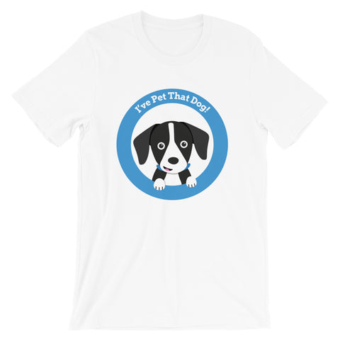 I've Pet That Dog Logo Tee