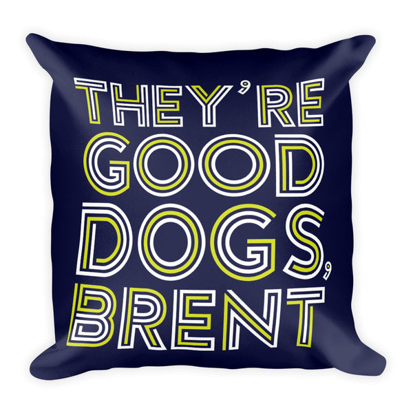 Brent - Throw Pillow