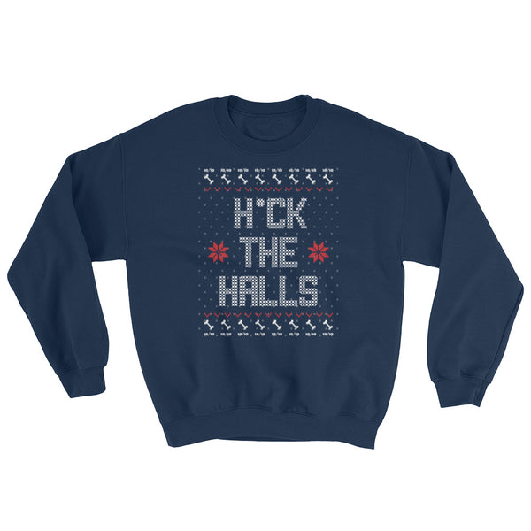 H*ck The Halls - Christmas Sweater
