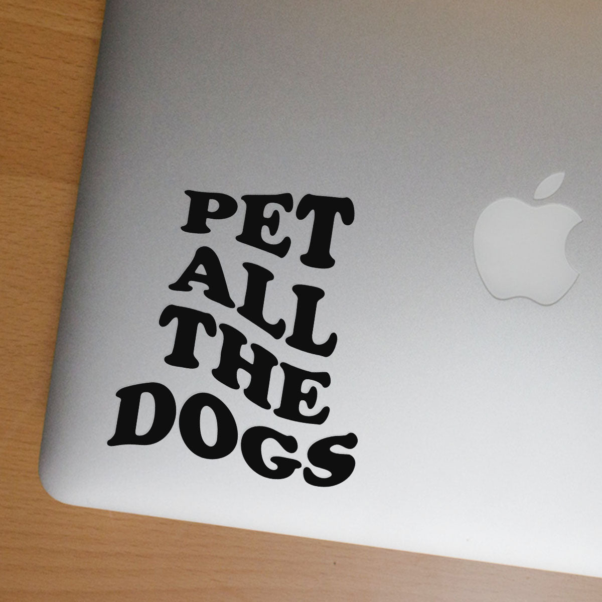 Pet All The Dogs Sticker