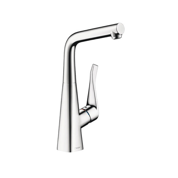 Hansgrohe Metris Single Handle Bar Faucet in Chrome