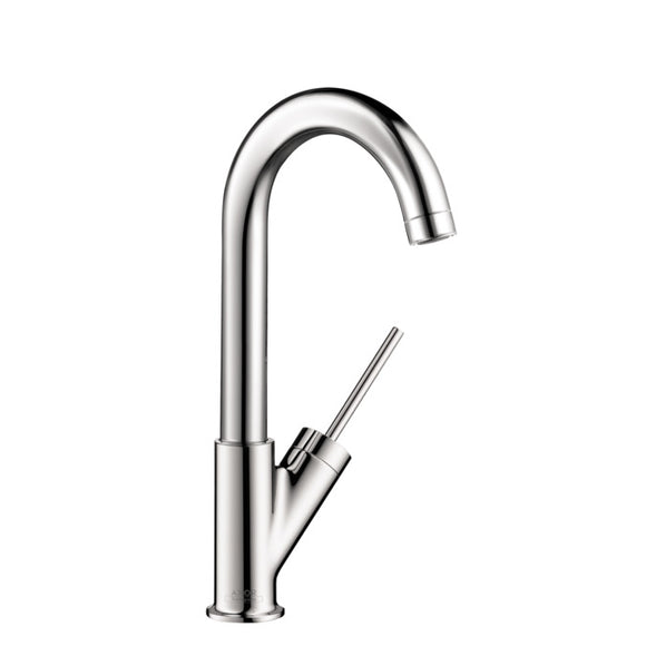 Hansgrohe AXOR Starck Single Handle Bar Faucet in Stainless Steel - Chariotwholesale