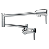 Delta Contemporary Wall Mount Pot Filler in Arctic Stainless