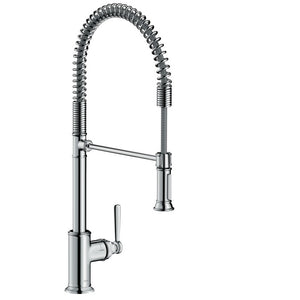 Hansgrohe AXOR Montreux 2-Spray Semi-Pro Kitchen Faucet in Chrome