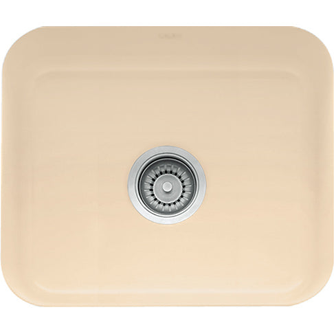 Franke Cisterna CCK110-19BT Fireclay Undermount Bar Sink in Biscuit