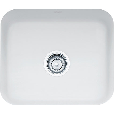 Franke Cisterna CCK110-19MW Fireclay Undermount Kitchen Sink in Matte White