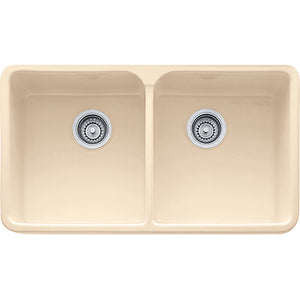 "Franke Manor House MHK720-31 Fireclay 31"" Apron Front Kitchen Sink in Biscuit - SpeedySinks"