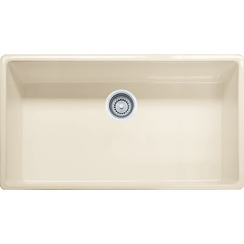 Franke FHK710-36 Fireclay Farm House Apron Front Kitchen Sink in Linen