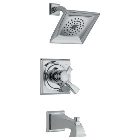 Delta Dryden Monitor 17 Series Tub/Shower Trim Only in Chrome