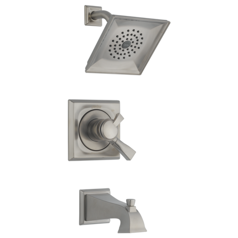 Delta Dryden Monitor 17 Series Tub/Shower Trim Only in Stainless