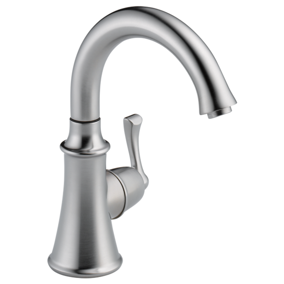 Delta Traditional Beverage Faucet in Arctic Stainless - SpeedySinks