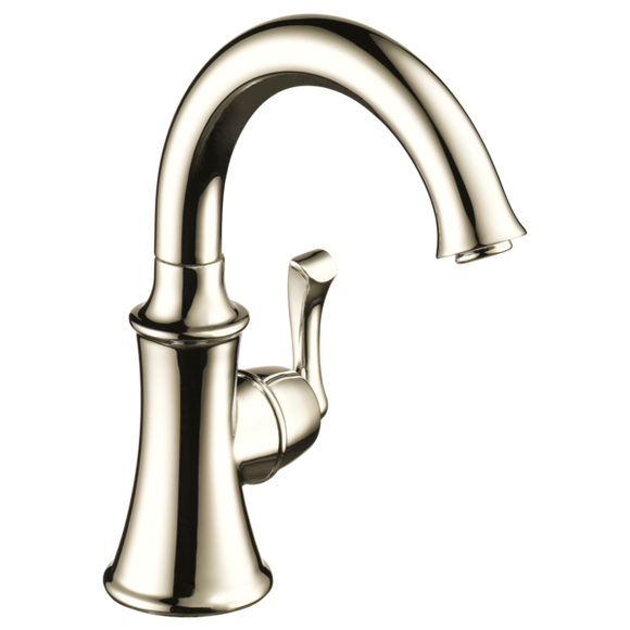 Delta Traditional Beverage Faucet in Polished Nickel - SpeedySinks