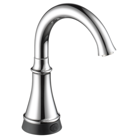 Delta Traditional Beverage Faucet with Touch2O Technology in Chrome - Chariotwholesale