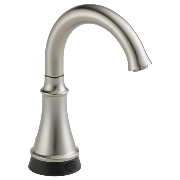 Delta Traditional Beverage Faucet with Touch2O Technology in Stainless - Chariotwholesale