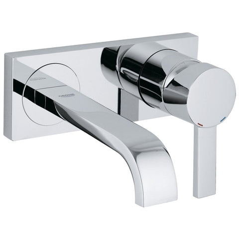 Grohe Allure Two-Hole Wall Mount Bathroom Faucet S-Size