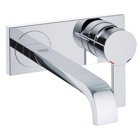Grohe Allure Two-Hole Wall Mount Bathroom Faucet M-Size