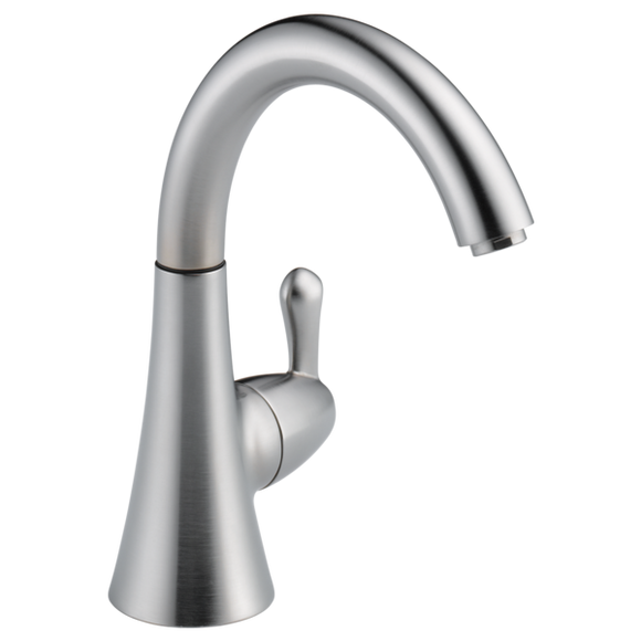 Delta Transitional Beverage Faucet in Arctic Stainless