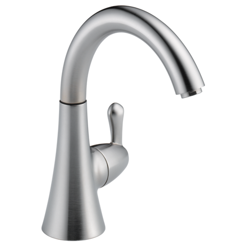 Delta Transitional Beverage Faucet in Arctic Stainless - SpeedySinks