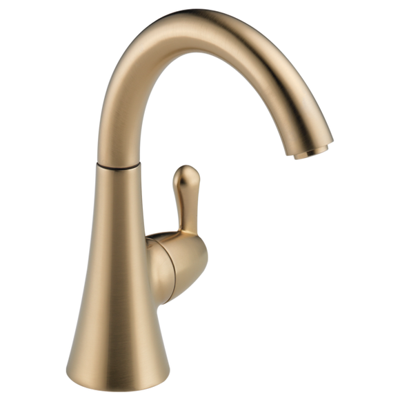 Delta Transitional Beverage Faucet in Champagne Bronze - SpeedySinks