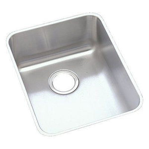 Elkay ELU1418 Gourmet Lustertone  Stainless Steel Undermount Sink - SpeedySinks