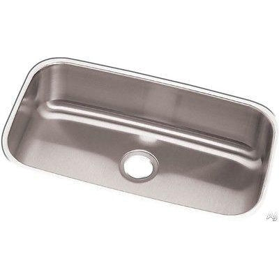 Elkay RCFU2816 Revere Stainless Steel Single Bowl Undermount Sink - SpeedySinks