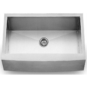 "Culinary Farmhouse Bowed Apron Front 33"" Stainless Steel 15 Gauge Kitchen Sink - SpeedySinks"