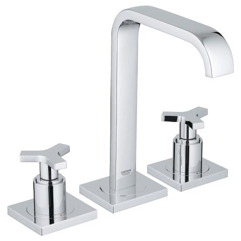 "Grohe Allure 8"" Widespread Two-Handle Bathroom Faucet M-Size with Cross Handles"