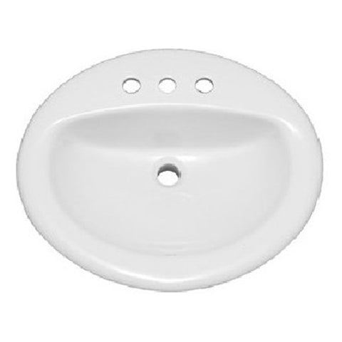 Oasis 2018 Bathroom Porcelain Sink - SpeedySinks