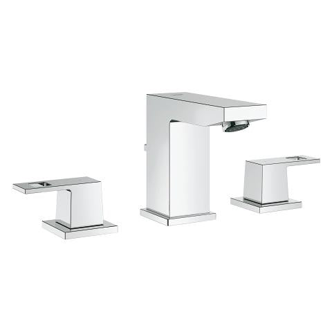 "Grohe Eurocube 8"" Widespread Two-Handle Bathroom Faucet S-Size"