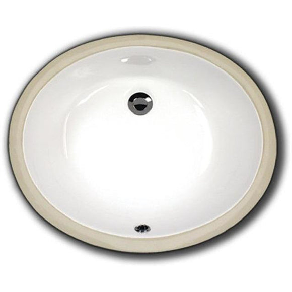 Oasis 2211 Large Bathroom Porcelain Sink - Chariotwholesale