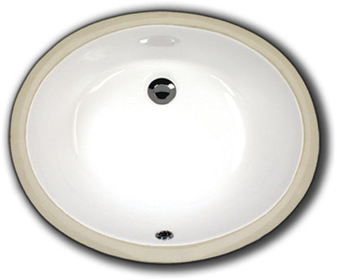 Oasis 2210 ADA White Bathroom Porcelain Sink