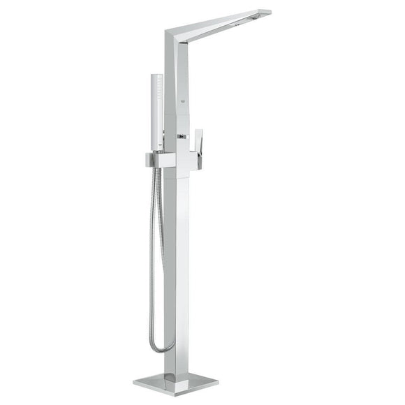 Grohe Allure Brilliant Single-Handle Free Standing Bathtub Faucet in Chrome - SpeedySinks