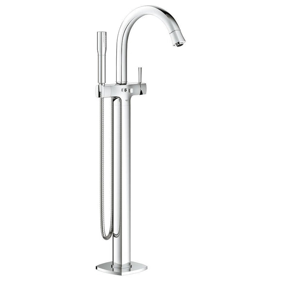 Grohe Grandera Single-Handle Free Standing Bathtub Faucet in Chrome - SpeedySinks