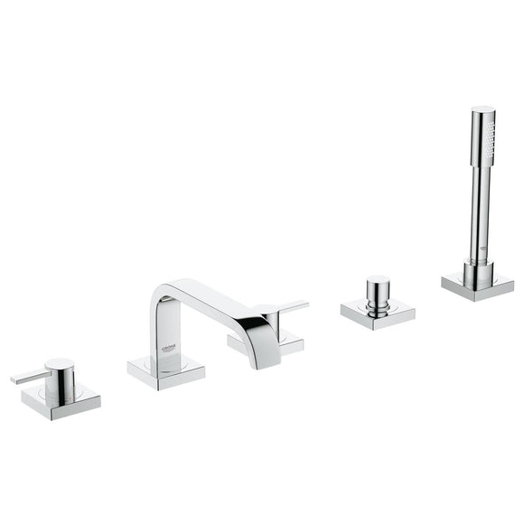 Grohe Allure Five-Hole Bathtub Faucet with Handshower - SpeedySinks