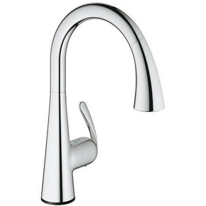 Grohe 30205001 Chrome Ladylux Touch Electronic Single handle Kitchen Faucet - SpeedySinks
