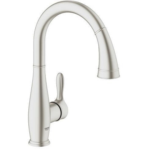 Grohe 30213DC0 Parkfield Supersteel Single-lever sink mixer 1/2