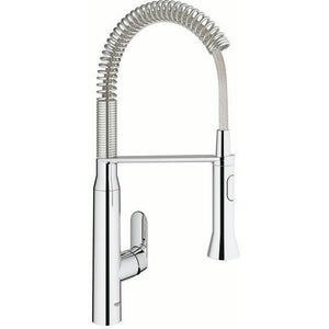 "Grohe 31380000 K7 Chrome Single-lever sink mixer 1/2"" Kitchen Faucet - SpeedySinks"