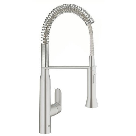 Grohe 31380DC0 K7 Supersteel Single-lever sink mixer 1/2
