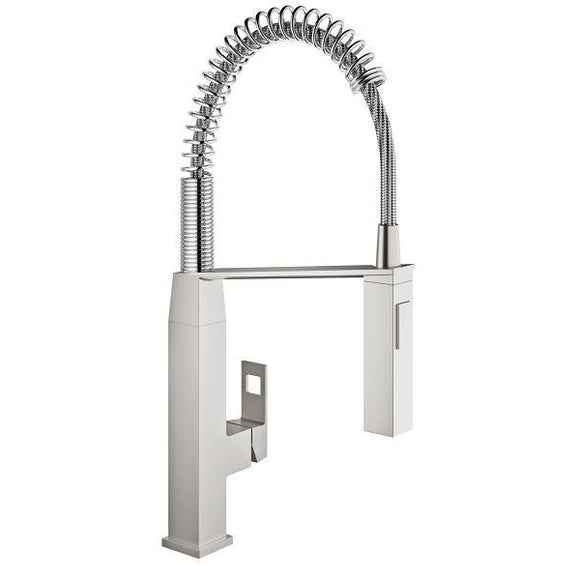 Grohe 31401DC0 Eurocube Supersteel Single-lever sink mixer 1/2