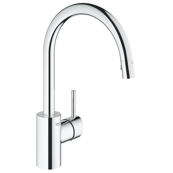 Grohe Concetto Concetto Single-Handle Kitchen Faucet in StarLight Chrome - SpeedySinks